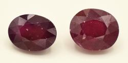 Neat Pair Of Rubies- 20+ CTTW
