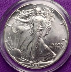 BU Silver Eagle, 1987