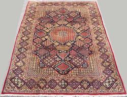 Captivating Mid C. Fine Handmade Vintage Persian Maymeh-Isfahan