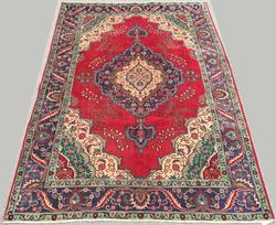 Delightful Mid-20th C. Fine Hand Woven Vintage Royal Persian Kerman