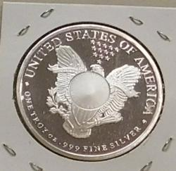 PROOF One Ounce Silver Round - Walker