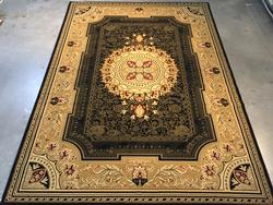 French Chateau Design Area Rug 8x11