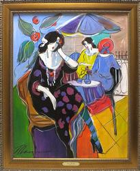 Issac Maimon, Women In Cafe