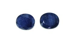 Pair of Oval Sapphires +16ctw.