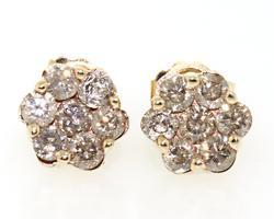 Nice Chocolate Diamond Earrings