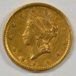 Very sharp 1851 US Type One $1 Gold Piece