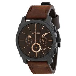 New Mens Fossil Chronograph, Brown Dial