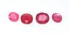 Set of Four Rubies +39ctw