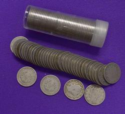 2 Rolls of Good or Better Liberty V Nickels