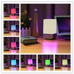 LED RGB Dimmable Night Light Alarm Clock Home Decor