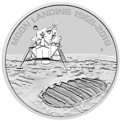 2019 Australia 1oz Fine Moon Landing
