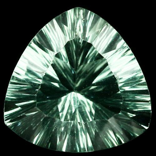 Brilliant 11.26ct platinum green Fluorite