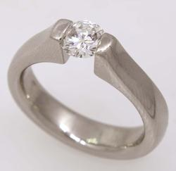 Stunning .60CT Diamond Ring, Size 6.5