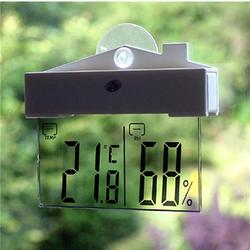 Digital Thermometer Transparent Humidity Meter