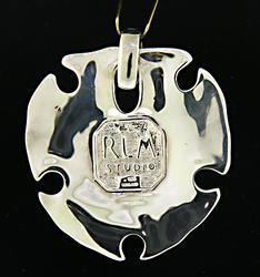 Robert Lee Morris Sand Dollar Pendant