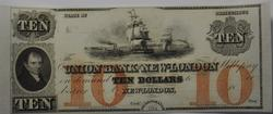 Obsolete $10 Dollars Union Bank of New London CT CU