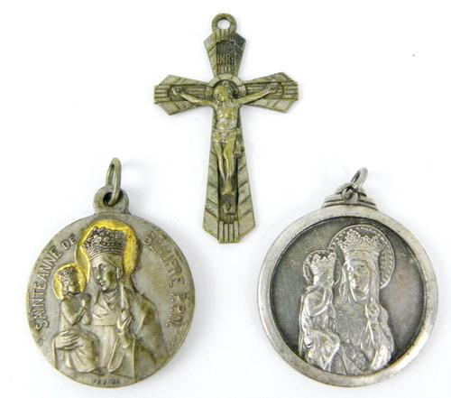 3 Early French Religious Medals