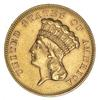 1864 $3.00 Gold Indian Princess Head
