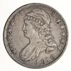 1818 Capped Bust Half Dollar - 0.110 Rarity 4 - Circulated
