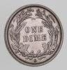 1892-O Barber Silver Dime - Choice