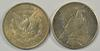 1891-S Morgan & 1925-S Peace Silver Dollars