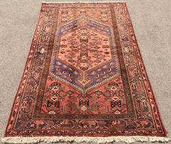 Enchanting Mid-20th C. Authentic Handmade Vintage Persian Rug