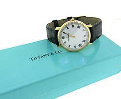 Tiffany & Co Roman Dial Quartz Watch