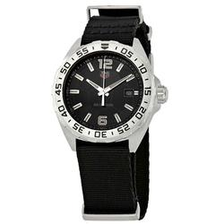 New Mens Tag Heuer, Black Dial, Sapphire