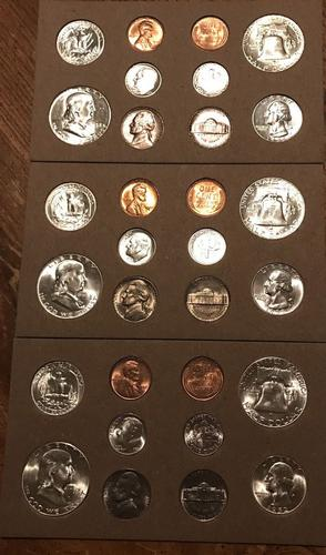 1952 - 30 Coin - Uncirculated Mint State Coin Set