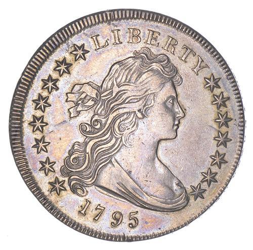 1795 Draped Bust Silver Dollar - Uncentered Bust -Nice Specimen!
