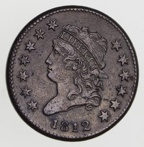 1812 Classic Head Large Cent - Near Uncirculated