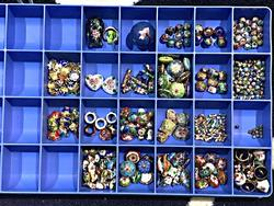 Collection of Clossione Beads