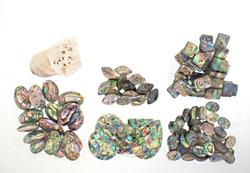 Collection of Assorted Abalone Beads