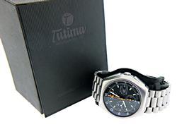 Tutima Military Lemania Chronograph Watch