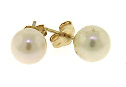 7mm Pearl Stud Earrings