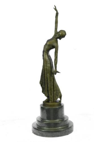 Graceful Dancer Bronze Statue