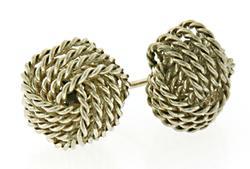 Tiffany & Co Somerset Knot Earrings