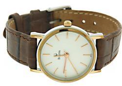 Bulova Leather Band Watch