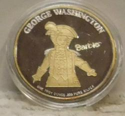 1997 Barbie PROOF Silver Commemorative with S/N