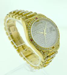 Showstopper fully loaded 18K Rolex Presidential