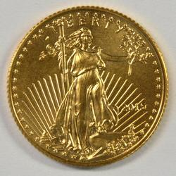 Pristine Superb Gem BU 2015 $5 American Gold Eagle