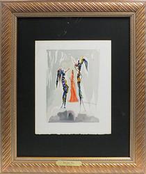 Salvador Dali Divine Comedy Circa 1964