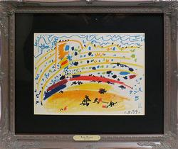 Collectible Picasso Offset Lithograph Circa 1961