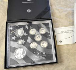 2014 Limited Edition Silver Proof Set