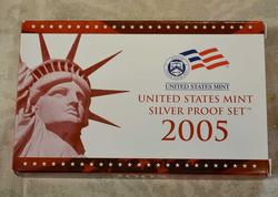 2005 Silver US Proof Set