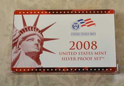 2008 Silver US Proof Set