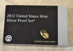 Key 2012 Silver US Proof Set