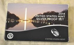2014 US Silver Proof Set