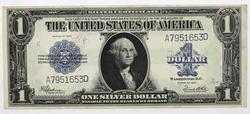 $1 1923 Silver Certificate Speelman White Ch AU