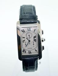 Cartier Tank Americaine Chronograph 18K